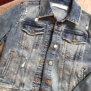 Zara Z1975 basic denim jacket M